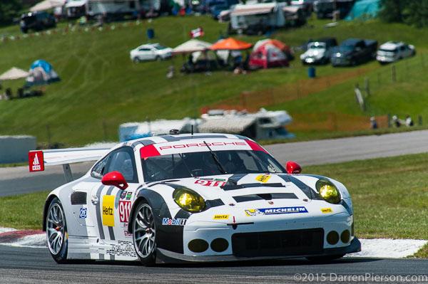 #911 Porsche North America Porsche 911 RSR: Nick Tandy, Patrick Pilet, Earl Bamber