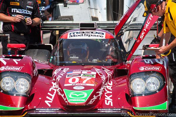 #07 Mazda Motorsports Mazda: Tom Long, Joel Miller