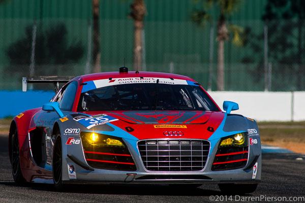 #35 Flying Lizard Motorsports Audi R8 LMS: TBA