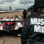 #6 Muscle Milk Pickett Racing ORECA: Lucas Luhr, Klaus Graf