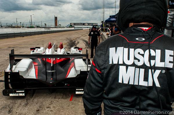 #6 Muscle Milk Pickett Racing ORECA: Lucas Luhr, Klaus Graf