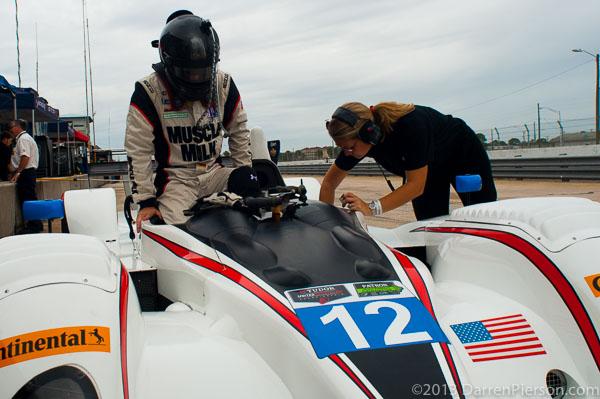 #12 Pickett Racing ORECA FLM09: Steven Doherty, Bryan Heitkotter
