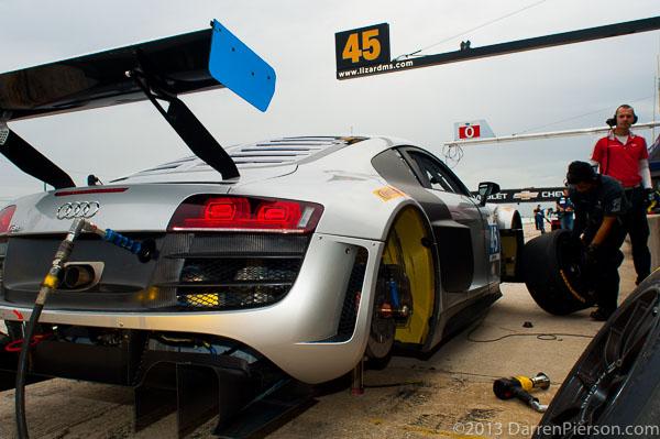 #45 Flying Lizard Motorsports Audi R8: TBA