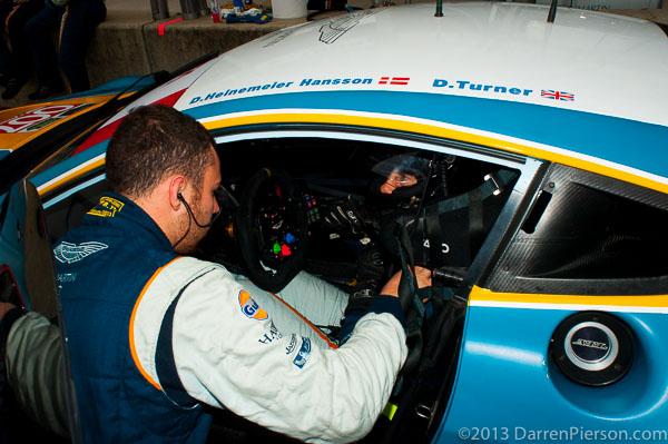 #007 Aston Martin Racing Aston Martin Vantage: David Heinemeier Hansson, Darren Turner