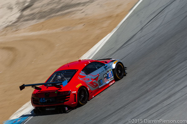 #45 Flying Lizard Motorsports Audi R8 LMS: Patrick Byrne, Guy Cosmo