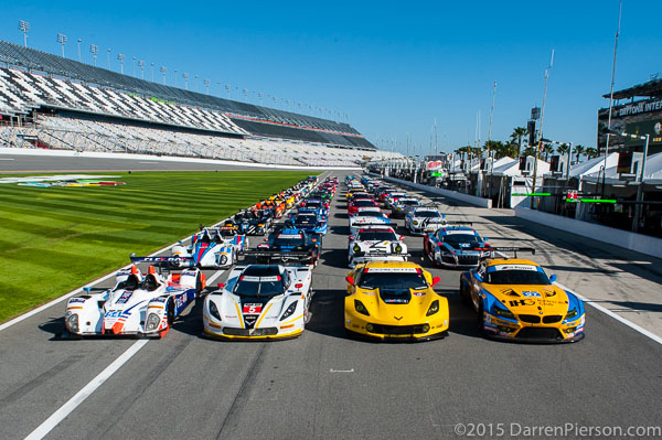 53rd Rolex 24 Hours Starting Grid