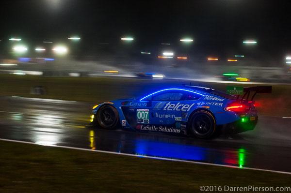 #007 TRG-AMR Aston Martin Vantage GT3: Santiago Creel, Antonio Pérez, Sergio Pérez, Lars Vilijoen, Ricardo Pérez de Lara