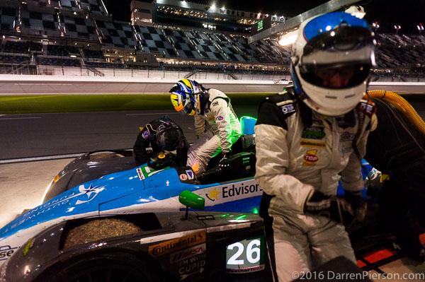 #26 BAR1 Motorsports ORECA FLM09: Adam Merzon, Ryan Eversley, John Falb, Don Yount