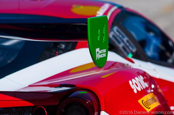 #63 Scuderia Corsa Ferrari 458 GT3: Christina Nielsen, Alessandro Balzan, Jeff Segal