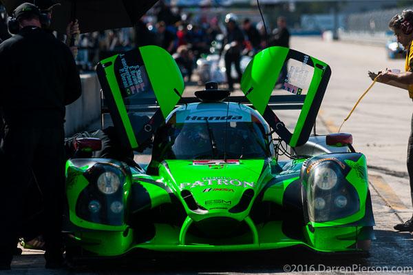 #2 Tequila Patrón ESM Ligier JS P2: Scott Sharp, Ed Brown, Joannes van Overbeek, Luis Felipe Derani