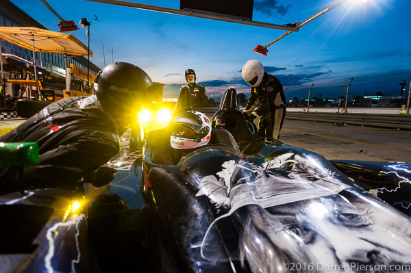#88 Starworks Motorsport ORECA FLM09: Mark Kvamme, Sean Johnston, Felix Rosenqvist, Maro Engel